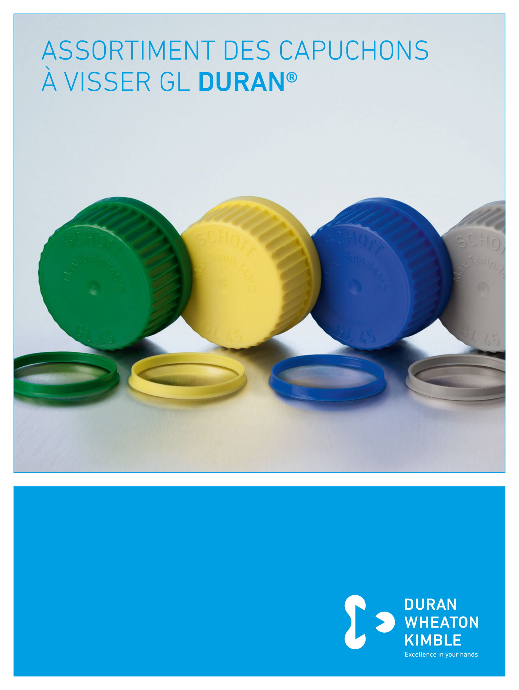 DURAN® Range of GL Threaded Screw Caps and Closures