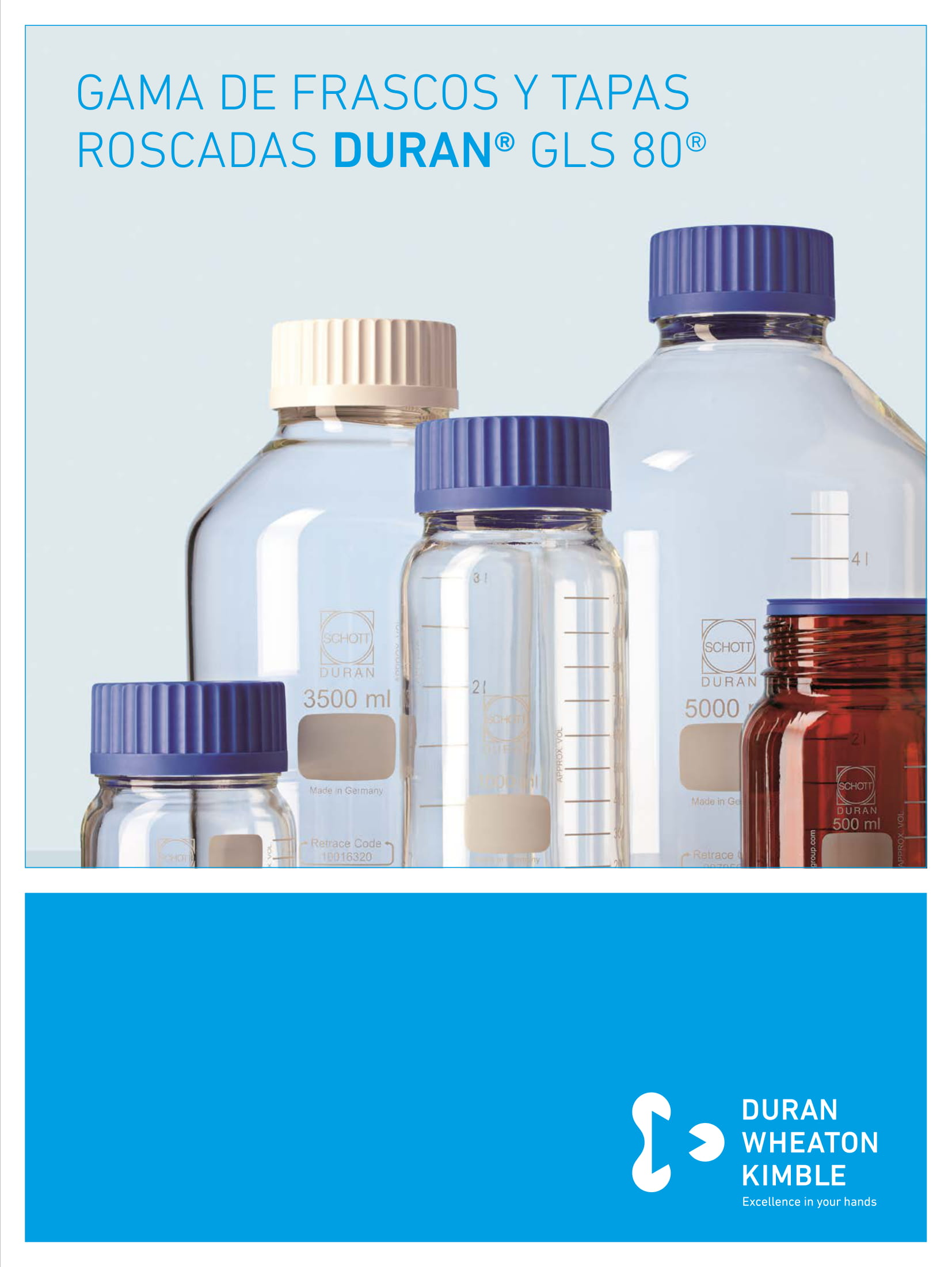 DURAN® Range of GLS 80® Bottles and Caps