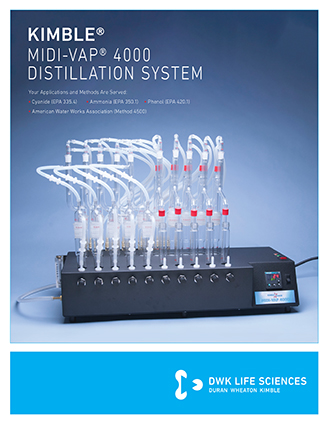 KIMBLE® Midi-Vap Distillation