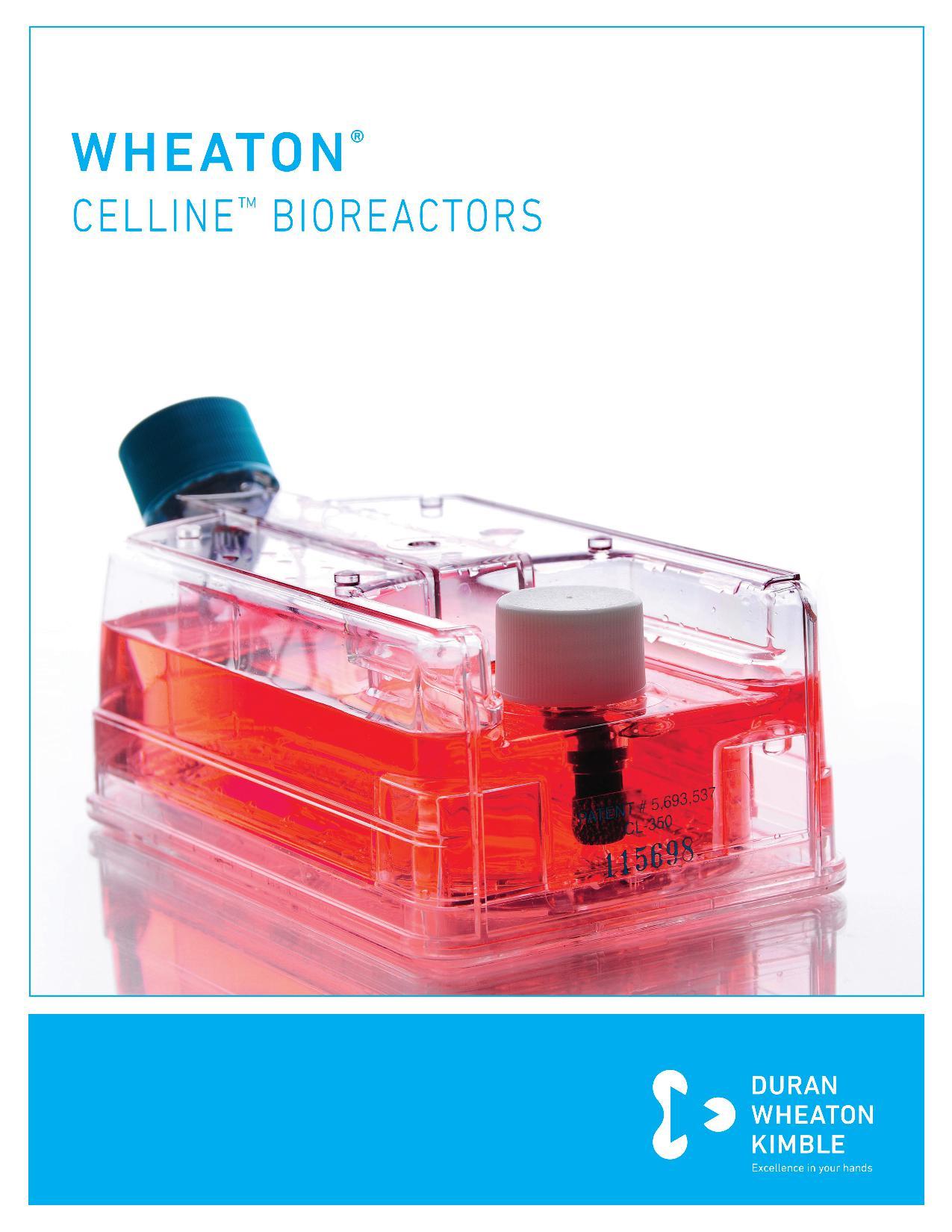 WHEATON® CELLINETM Bioreactors