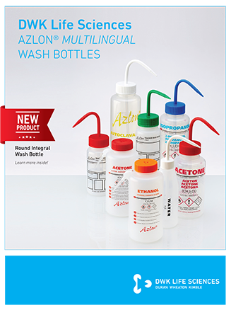 Azlon® Multilingual Wash Bottles
