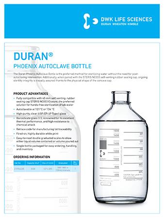 DURAN® Phoenix Bottle