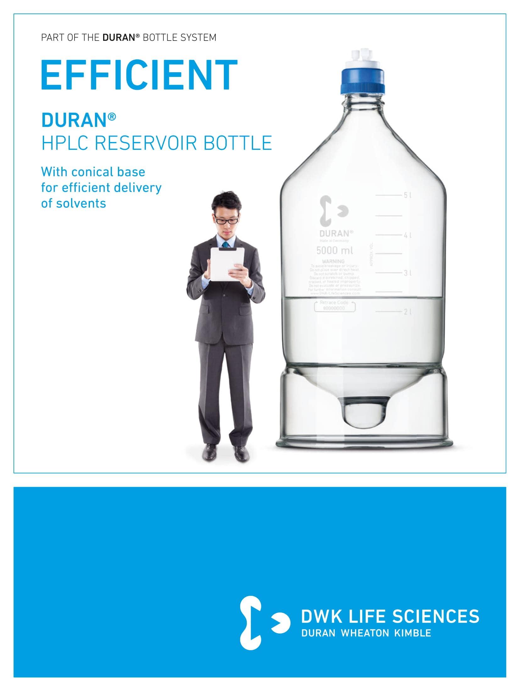 DURAN® HPLC Reservoir Bottle GL 45 English