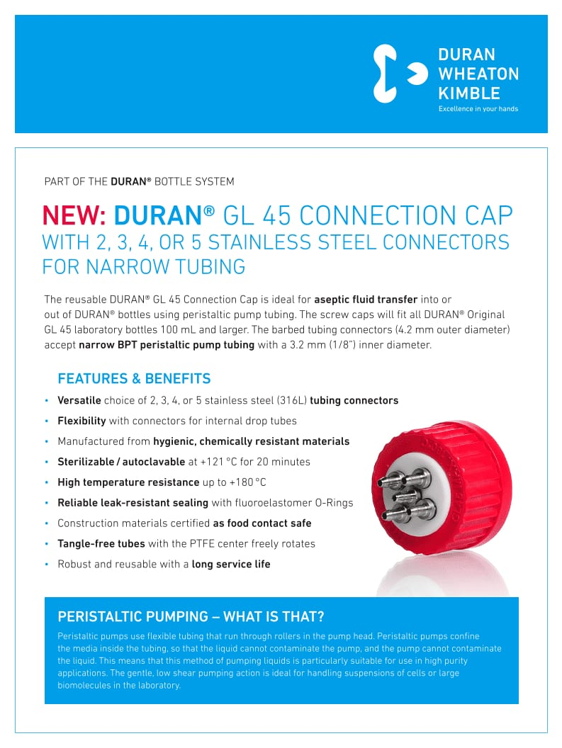 DWK DURAN Flyer GL45-Connection-Cap EN LOW