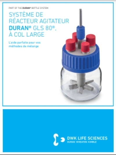 DURAN® GLS 80® Stirred Reactor