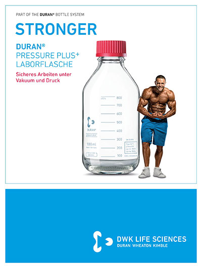 DURAN® Laboratory Bottle Pressure Plus+ GL 45 German