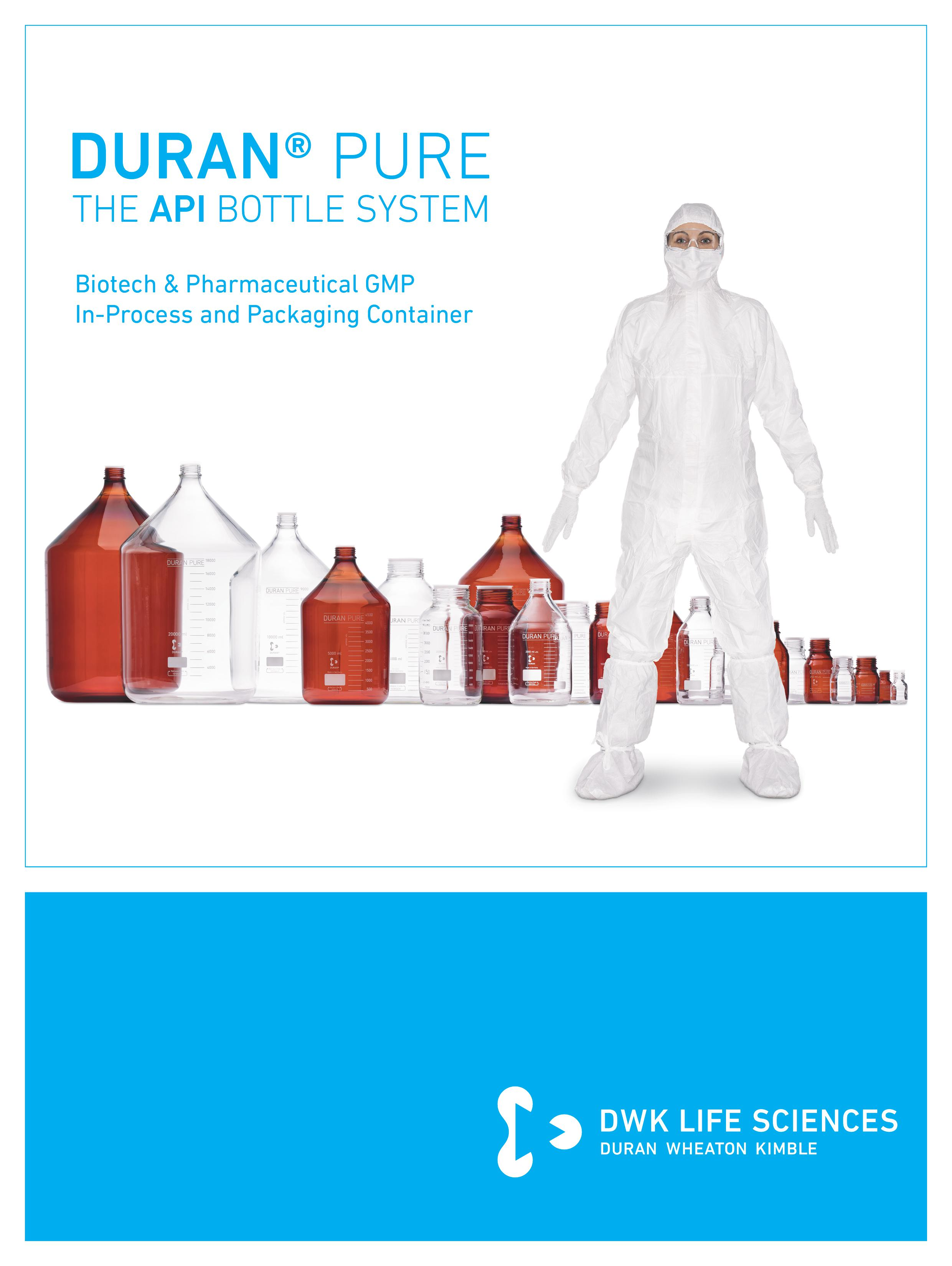 DURAN® PURE - The API Bottle System