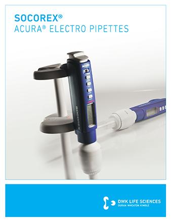 Socorex Electro Pipettes