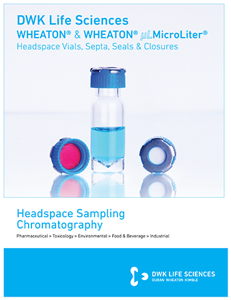 WHEATON® Headspace Sampling Chromatography