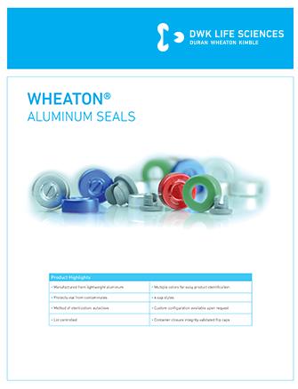 WHEATON Aluminum Seals