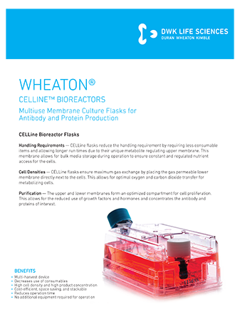 WHEATON® CELLine Flyer