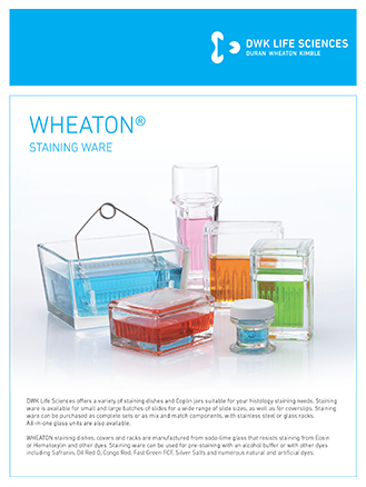 WHEATON® Staining Ware Flyer