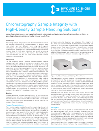 WHEATON® MicroLiter Chromatography Sample