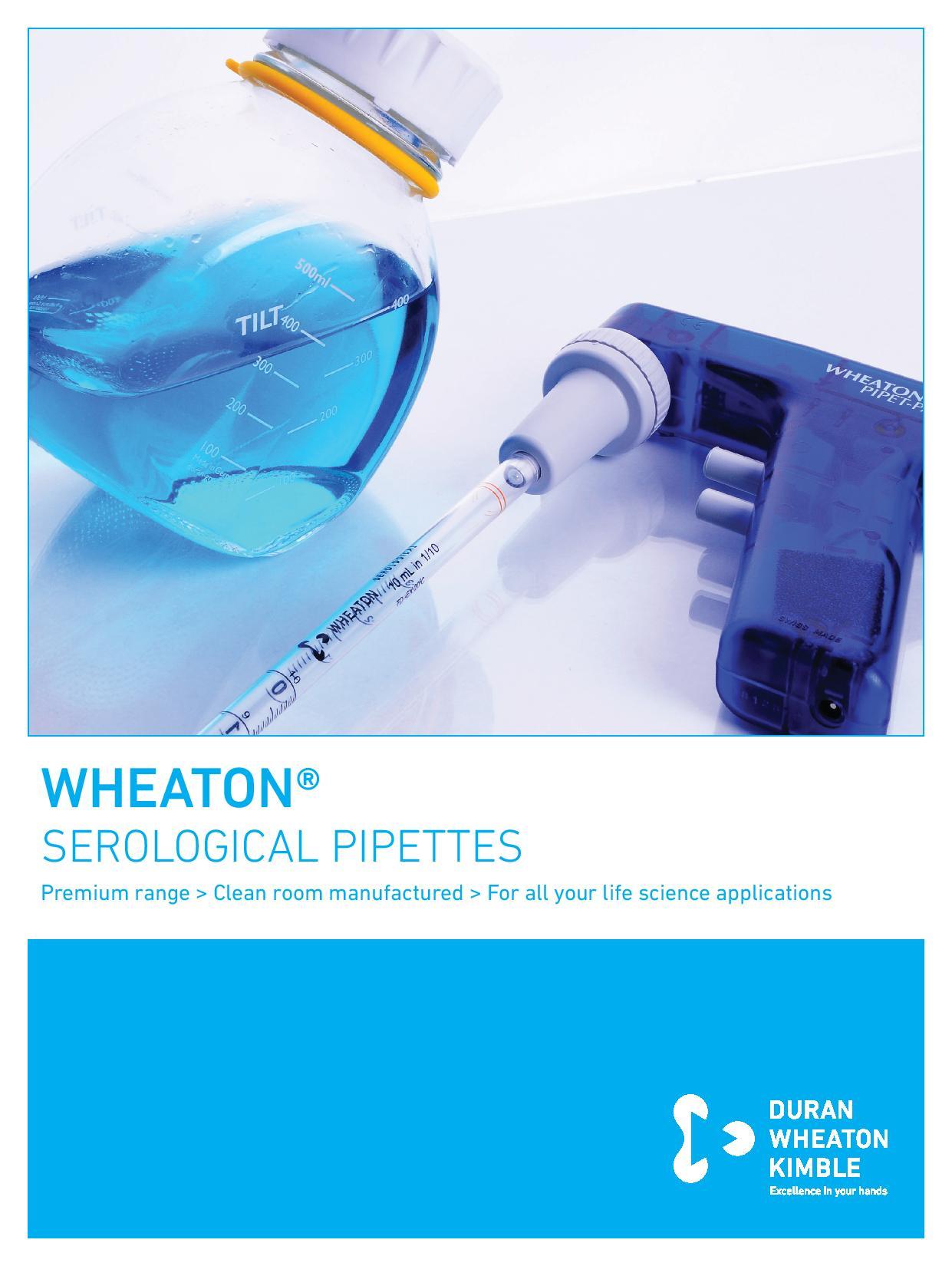 WHEATON® SEROLOGICAL PIPETTES